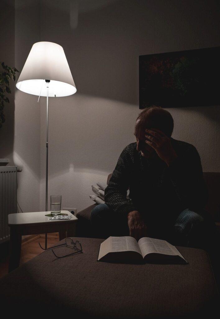 Mann im Dunkeln (Andreas)